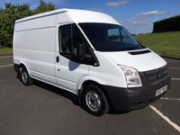 USED 2013 FORD TRANSIT 2.2 T280 125 BHP MWB TDCI ONE COMPANY OWNER FROM NEW, EXCELLENT DRIVER