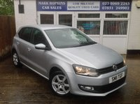 USED 2011 11 VOLKSWAGEN POLO 1.2 MODA 5d 70 BHP 26K FSH  ONE FAMILY OWNER  EXCELLENT CONDITION