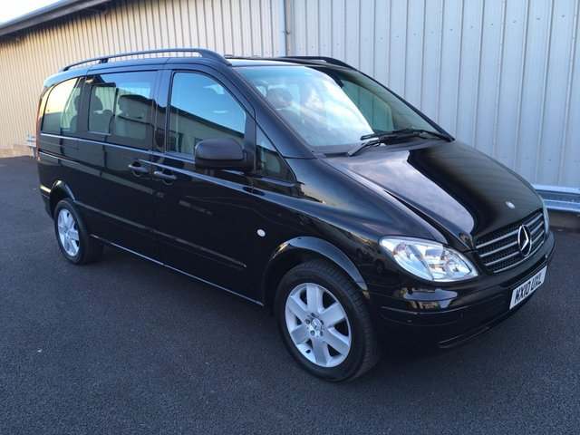 2010 10 MERCEDES-BENZ VITO 3.0 120 CDI TRAVELINER COMPACT VAN AUTO 204BHP 8 SEATER