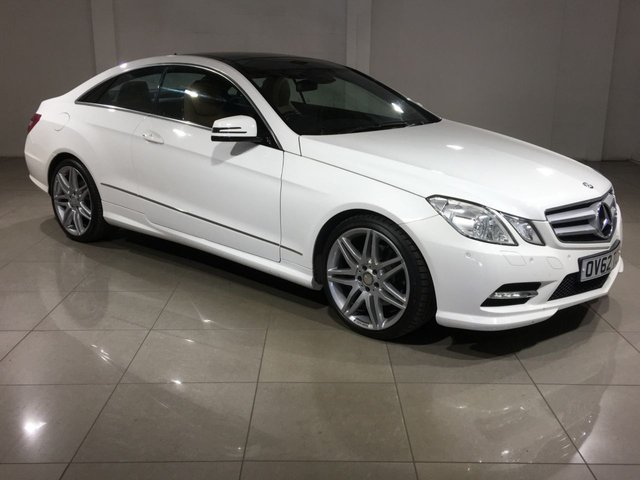 View our 2012 62 MERCEDES-BENZ E CLASS 3.0 E350 CDI BLUEEFFICIENCY SPORT 2d AUTO 265 BHP