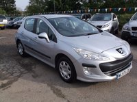 USED 2008 57 PEUGEOT 308 1.6 S 5d 118 BHP ***Excellent economy - reliable family car  -  Service history  - Long MOT***