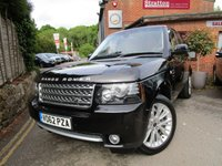 2012 LAND ROVER RANGE ROVER 4.4 TDV8 WESTMINSTER 5d AUTO 313 BHP £26000.00