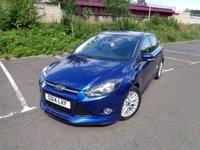 USED 2014 14 FORD FOCUS 1.6 ZETEC S TDCI 5d 113 BHP BLUETOOTH + DAB RADIO