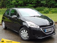 USED 2013 13 PEUGEOT 208 1.2 ACCESS PLUS 3d 82 BHP 128 POINT AA INSPECTED
