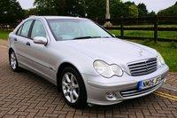 USED 2005 05 MERCEDES-BENZ C CLASS 2.1 C220 CDI CLASSIC SE 4d AUTO 148 BHP