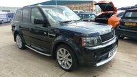 USED 2011 61 LAND ROVER RANGE ROVER SPORT 3.0 TDV6 STORMER EDITION 5d AUTO 245 BHP SUPERCHARGED