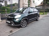 USED 2014 14 FIAT 500L 1.4 TREKKING 5d 95 BHP ****FINANCE ARRANGED***PART EXCHANGE***1OWNER,CRUISE CONTROL,BLUETOOTH*