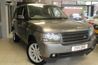 USED 2011 11 LAND ROVER RANGE ROVER 4.4 TDV8 VOGUE SE 5d AUTO 313 BHP FULL LAND ROVER SERVICE STAMPS + FULL BLACK LEATHER SEATS + SAT NAV + REAR VIEW CAMERA + SUN ROOF + MEMORY/HEATED SEATS + XENONS + CRUISE CONTROL + 20 INCH ALLOYS + BLUETOOTH