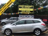 USED 2014 14 FORD FOCUS 1.6 ZETEC NAVIGATOR TDCI 5d 113 BHP STUNNING SILVER METALLIC WITH BLACK/GREY CLOTH UPHOLSTERY. ONE OWNER WITH FULL FORD HISTORY. MOT TILL 22ND APRIL 2018. SAT NAV. AIR CONDITIONING. ALLOY WHEELS. ELECTRIC WINDOWS. REMOTE CENTRAL LOCKING. TWO KEYS. ONLY £20 PER YEAR ROAD TAX.