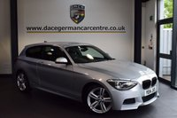 USED 2014 14 BMW 1 SERIES 1.6 118I M SPORT 3DR 168 BHP + FULL BMW SERVICE HISTORY + BLUETOOTH + XENON LIGHTS + CRUISE CONTROL + DAB RADIO + SPORT SEATS + M SPORT PACKAGE + PARKING SENSORS + 18 INCH ALLOY WHEELS +