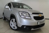 USED 2011 11 CHEVROLET ORLANDO 2.0 LTZ VCDI 5DR AUTOMATIC 163 BHP SERVICE HISTORY + 0% FINANCE AVAILABLE T&C'S APPLY + HEATED LEATHER SEATS + 7 SEATS + PARKING SENSOR + BLUETOOTH + CRUISE CONTROL