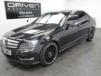 USED 2012 62 MERCEDES-BENZ C CLASS 2.1 C220 CDI BLUEEFFICIENCY AMG SPORT PLUS 4d AUTO 168 BHP