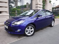 USED 2014 14 FORD FOCUS 1.6 ZETEC 5d AUTO 124 BHP ****FINANCE ARRANGED***PART EXCHANGE***1OWNER**BLUETOOTH**AUTOMATIC ***