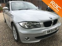 USED 2005 54 BMW 1 SERIES 2.0 120D SE 5d 161 BHP