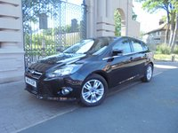 USED 2014 14 FORD FOCUS 1.6 TITANIUM NAVIGATOR TDCI 5dr 113 BHP 1 OWNER FROM NEW £ 20 TAX SAT/NAV  BLUETOOTH PHONE AIR/CON CRUISE CONTROL PARKING SENSORS *** FINANCE & PART EXCHANGE WELCOME ***