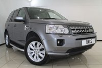 USED 2012 12 LAND ROVER FREELANDER 2.2 SD4 XS 5DR AUTOMATIC 190 BHP FULL SERVICE HISTORY + 0% FINANCE AVAILABLE T&C'S APPLY + 4X4 + SAT NAVIGATION + SIDE STEPS + PARKING SENSORS + BLUETOOTH + CRUISE CONTROL