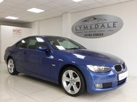 USED 2008 08 BMW 3 SERIES 2.0 320I SE 2d 168 BHP Don't Miss! MOT 4.6.18 High Spec With Full Luxury Leather Upholstery