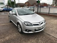 USED 2006 06 VAUXHALL TIGRA 1.4 SPORT 16V TWINPORT 2d 90 BHP Low Mileage, Service History, Heated Leather Seats, Electric Roof