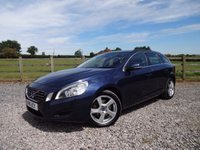 USED 2011 11 VOLVO V60  2.0 D3 SE 5dr (start/stop) 1 OWNER  FROM NEW+FULL VOLVO DEALER SERVICE HISTORY