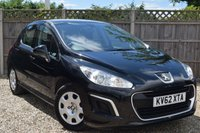 USED 2012 62 PEUGEOT 308 1.6 HDI ACCESS 5d 92 BHP Free 12  month warranty