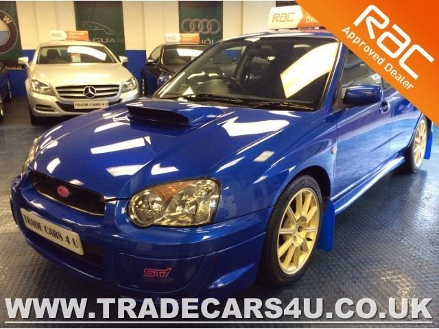 2005 05 SUBARU IMPREZA 2.0 WRX STI TYPE UK GENUINE WIDETRACK 4WD