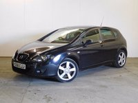 2007 SEAT LEON 1.6 STYLANCE 5d 101 BHP ALLOYS CRUISE PRIVACY MOT 01/18 £2490.00