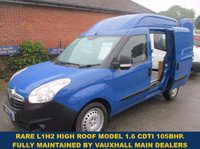 USED 2013 VAUXHALL COMBO 2300 L1H2 HIGH ROOF 1.6 CDTI 105BHP WITH FULL VAUXHALL HISTORY RARE L1 L2