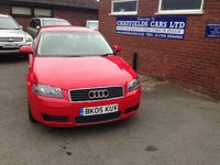 USED 2005 05 AUDI A3 1.6 SPECIAL EDITION 16V 3d 101 BHP 12 MONTH MOT