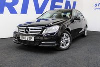 USED 2013 13 MERCEDES-BENZ C CLASS 2.1 C220 CDI BLUEEFFICIENCY EXECUTIVE SE 4d 168 BHP SALOON