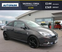 USED 2015 15 VAUXHALL CORSA 1.2 LIMITED EDITION 3d 69 BHP LOW DEPOSIT - NO DEPOSIT FINANCE AVAILABLE.