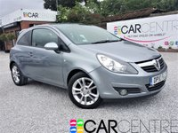 USED 2010 10 VAUXHALL CORSA 1.2 SXI A/C 3d 83 BHP 1  PREVIOUS OWNER + FULL SERVICE HISTORY