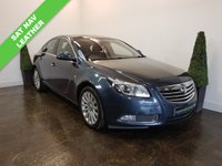 USED 2011 11 VAUXHALL INSIGNIA 2.0 ELITE NAV CDTI 5d AUTO 158 BHP LEATHER+SAT NAV