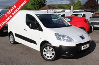 USED 2011 11 PEUGEOT PARTNER 1.6 HDI SE L1 625 1d 74 BHP 3 Seats, One Owner, Finance Arranged.