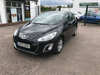 USED 2012 12 PEUGEOT 308 1.6 HDI ACTIVE 5d 92 BHP This vehicle has just arrived and is awaiting full preparation.