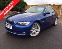 USED 2007 05 BMW 3 SERIES 3.0 330D SE 2d 228 BHP STUNNING COUPE