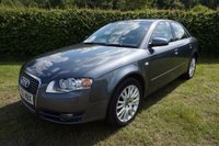 USED 2006 56 AUDI A4 2.7 TDI SE TDV 4d AUTO 177 BHP LEATHER-HISTORY 2 Keys, Excellent Service History with 7 Stamps, 12 Months MOT