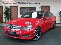 2012 MERCEDES-BENZ C CLASS 2.1 C250 CDI BLUEEFFICIENCY AMG SPORT PLUS 4d AUTO 202 BHP £13750.00