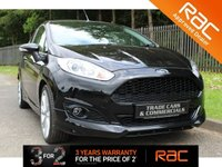 USED 2014 64 FORD FIESTA 1.0 ZETEC S 3d 124 BHP A STUNNING LOW MILEAGE FIESTA ZETEC S WHICH HAS HAD ONE PREVIOUS OWNER FROM NEW
