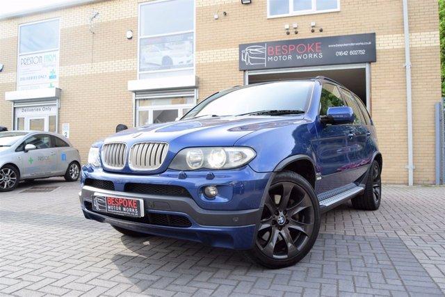 2006 55 BMW X5 4.8 IS AUTOMATIC