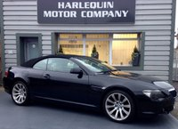 USED 2007 57 BMW 6 SERIES 3.0 630I SPORT 2d AUTO 255 BHP BMW 630i SPORT CONVERTIBLE AUTOMATIC IN METALLIC BLACK WITH CONTRASTING BEIGE SPORTS LEATHER ALLOYS ELECTRIC CONVERTIBLE ROOF