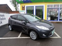 USED 2010 10 FORD FIESTA 1.4 TITANIUM 5d 96 BHP JUST ARRIVED  LOW MILES FROM NEW
