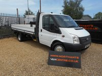 2014 FORD TRANSIT 2.2 350EF DRW 2d 125 BHP RWD EXTENDED FRAME £10990.00