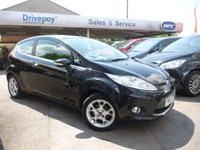 USED 2011 61 FORD FIESTA 1.4 ZETEC 16V 3d 96 BHP NEED FINANCE? WE CAN HELP. WE STRIVE FOR 94% ACCEPTANCE