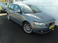 2012 VOLVO V50 1.6 DRIVE SE LUX EDITION S/S 5d 113 BHP £9995.00