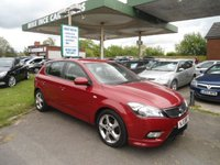 2010 KIA CEED 1.6 3 CRDI 5d AUTO 113 BHP £4495.00