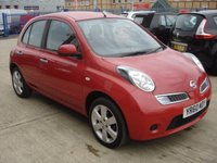 USED 2010 60 NISSAN MICRA 1.2 ACENTA 5d 80 BHP  MOT SERVICE WARRANTY FINANCE