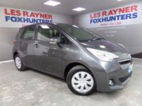 USED 2012 62 TOYOTA VERSO-S 1.3 VVT-I TR 5d 98 BHP Full Service History , Low Miles !