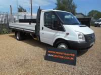 2013 FORD TRANSIT 2.2 350 EXTENDED FRAME DROPSIDE DRW RWD 2d 125 BHP £10790.00