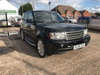 USED 2008 08 LAND ROVER RANGE ROVER SPORT 2.7 TDV6 SPORT HSE 5d AUTO 188 BHP Sat Nav, Service History including Cam Belts, 2.7 Diesel, Leather Heated Seats Front and Rear