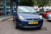 USED 2008 58 FORD FIESTA 1.4 ZETEC BLUE 5door 80 BHP PART-Ex TO  CLEAR, 3 Owners from New, FULL MOT